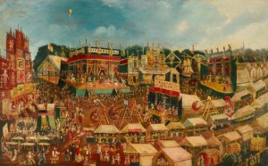 Painting of the original Camberwell Fair